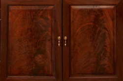 Lower doors Crotch Walnut detail