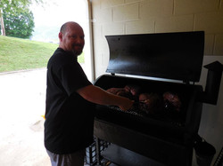 Ray is the best at the smoker.