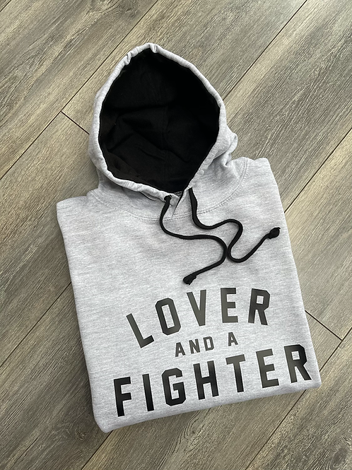 Lover And A Fighter Hoodie