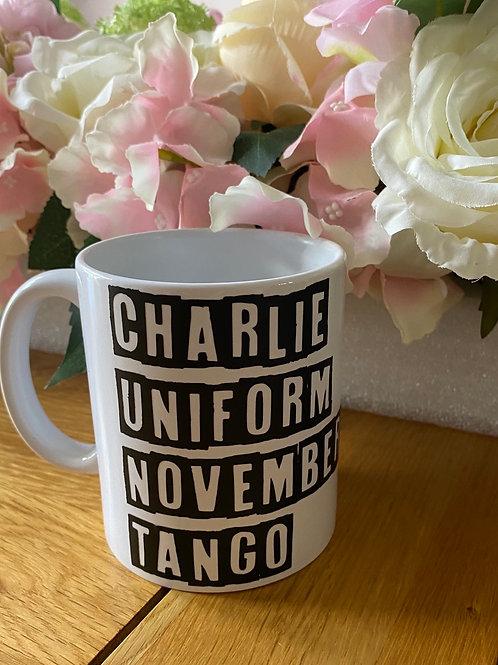 Charlie Uniform Mug