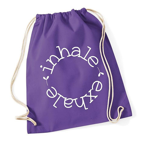 Inhale Exhale Gym Bag