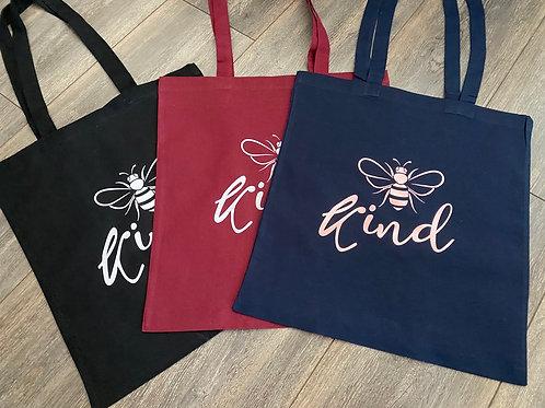 Be Kind/Bee/Happy Safe Shopper Bag