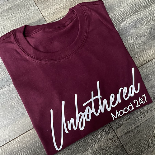 Unbothered Tee