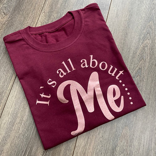 All About Me Tee