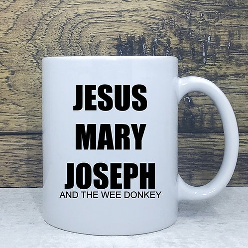 Jesus,Mary,Joseph Mug