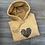 Thumbnail: Leopard Heart Sweatshirt/Hoodie