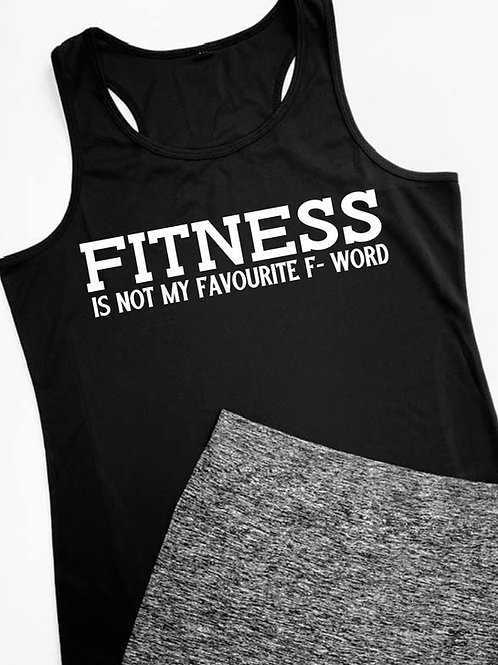 Fitness is Sports Vest