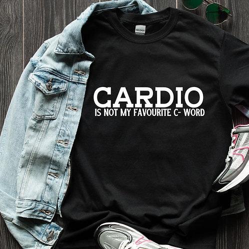 Cardio Is Tee