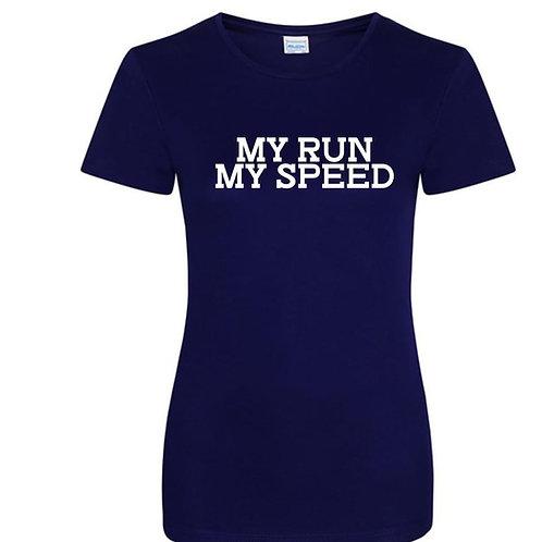 My Run Sports Tee