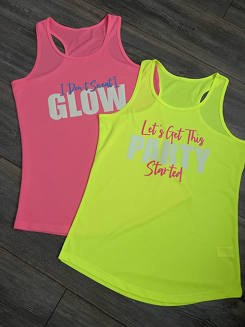 Party Started Sports Vest