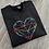 Thumbnail: Geo Heart Sweatshirt/Hoodie