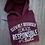 Thumbnail: Responsible Adult Sweatshirt/Hoodie