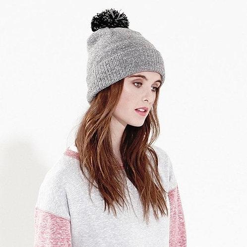 Snowstar Pom Pom Hat