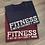 Thumbnail: Fitness Is ... Tee