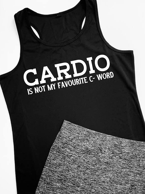 Cardio Is Sports Vest