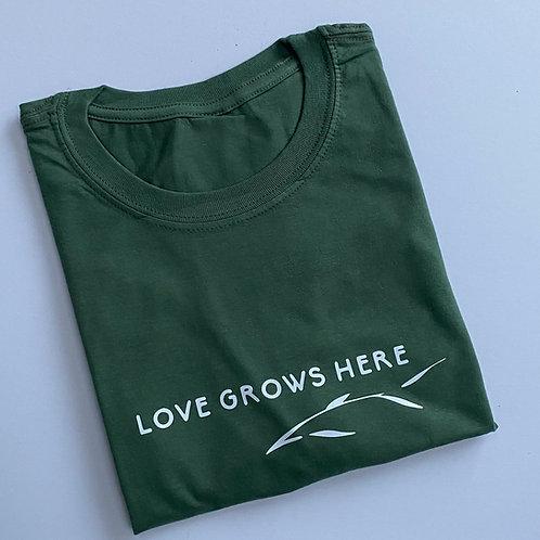 Love Grows Here Tee