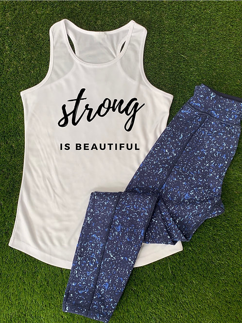 Strong Is Beautiful Sports Vest
