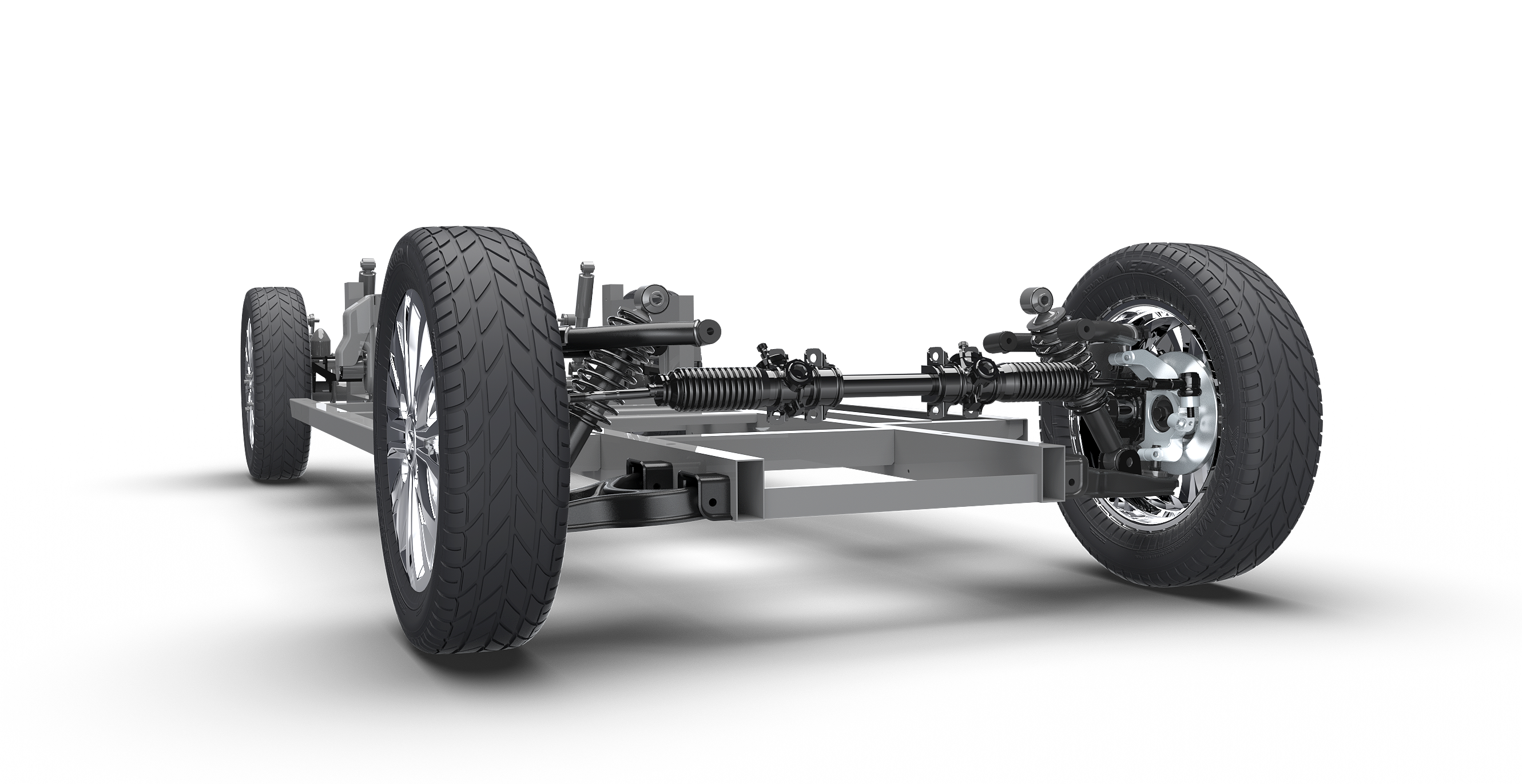 Pickman 4 Passenger Suspension Chassis