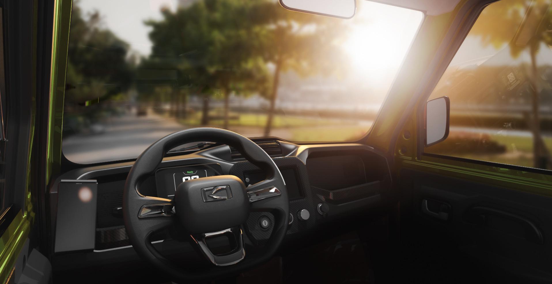 Pickman XR Interior Driver