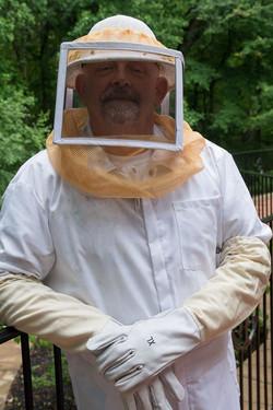 Beekeeper Tim