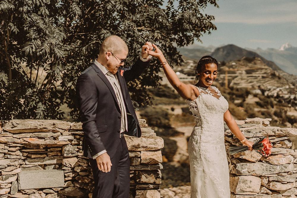 mariage sion bisse premier regard impatience emotion trac amour couple