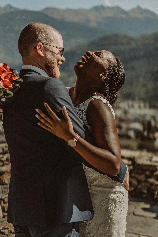 mariage sion bisse premier regard impatience emotion trac amour couple rire