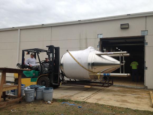Brewing System Install 1