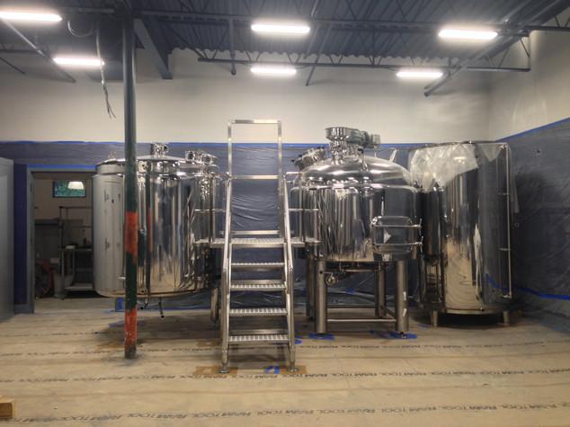 Brewing System Install 4