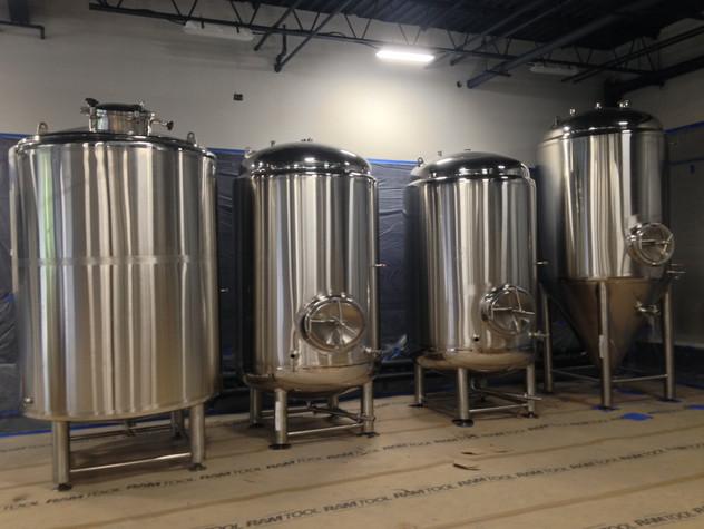 Brewing System Install 3