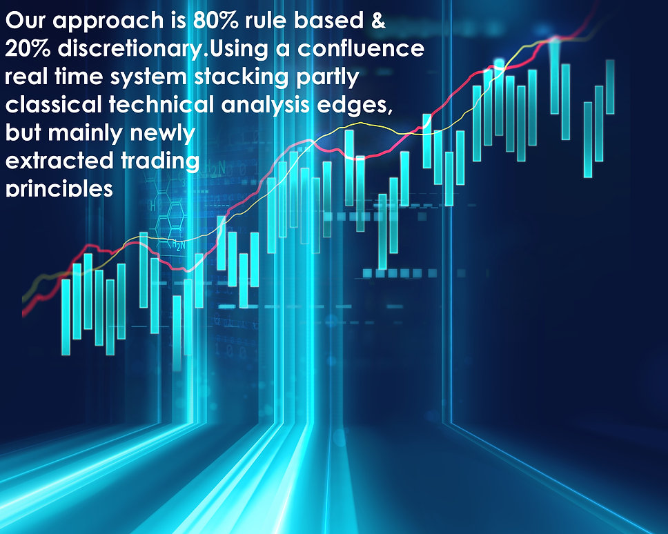 Our approach is 80% rule based & 20% dis