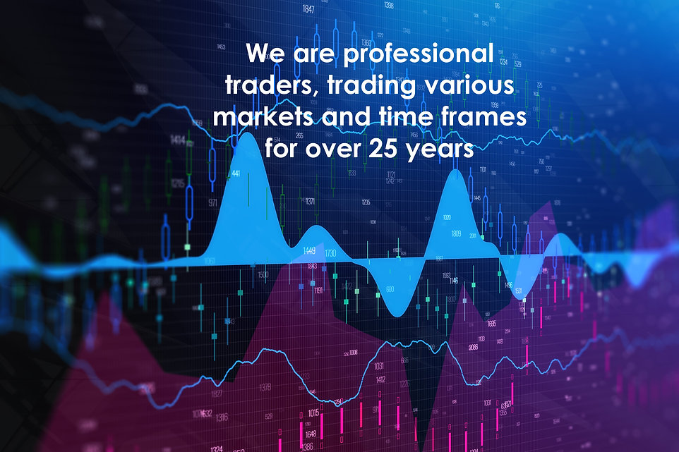 We are professional traders, trading var