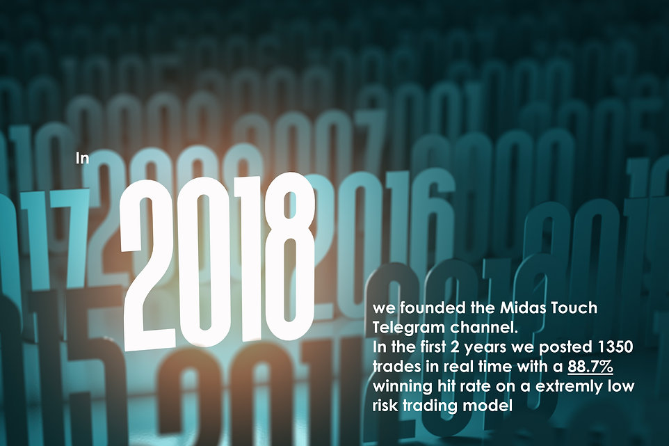 In 2018 we founded the Midas Touch Teleg