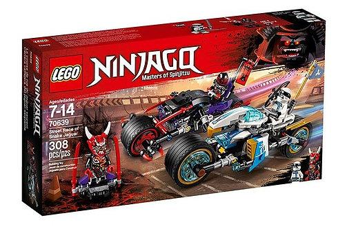 樂高LEGO NINJAGO 旋風忍者系列《蛇捷豹街頭大車拚》Street Race of Snake Jaguar 70639