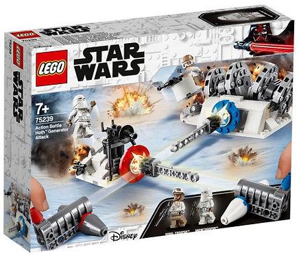 樂高 LEGO 星際大戰電影系列 《星際大戰:行動對戰 霍斯生成器攻擊 》Action Battle Hoth Generator Attack 75239