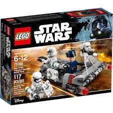 樂高LEGO 星際大戰系列 第一軍團運輸車戰鬥包 75166