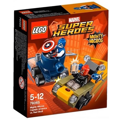 超級英雄系列迷你車 美國隊長vs.紅骷髏 76065