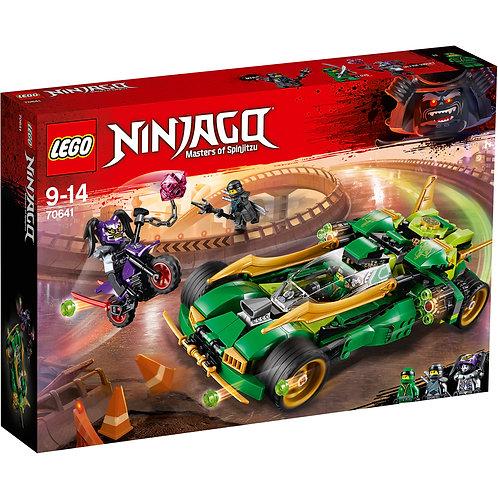 樂高 LEGO 旋風忍者系列《忍者夜行者》Ninja Nightcrawler 70641