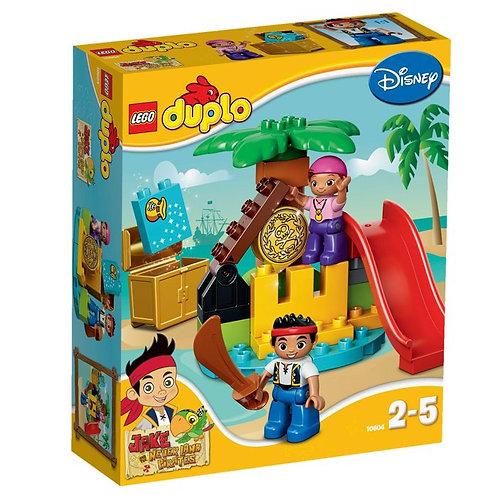 樂高LEGO得寶 Duplo幼兒系列 傑克與夢幻島之海盜與珍寶島 10604
