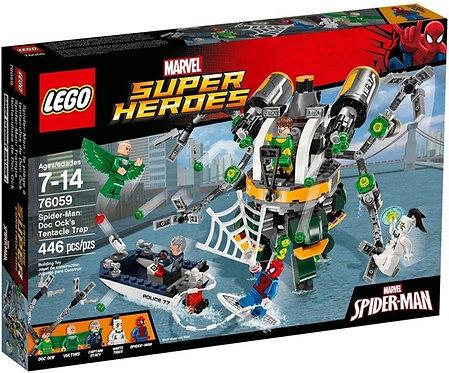 樂高LEGO 超級英雄系列 蜘蛛人:八爪博士的觸手陷阱 Spider-Man: Doc Ock's Tentacle Trap 76059
