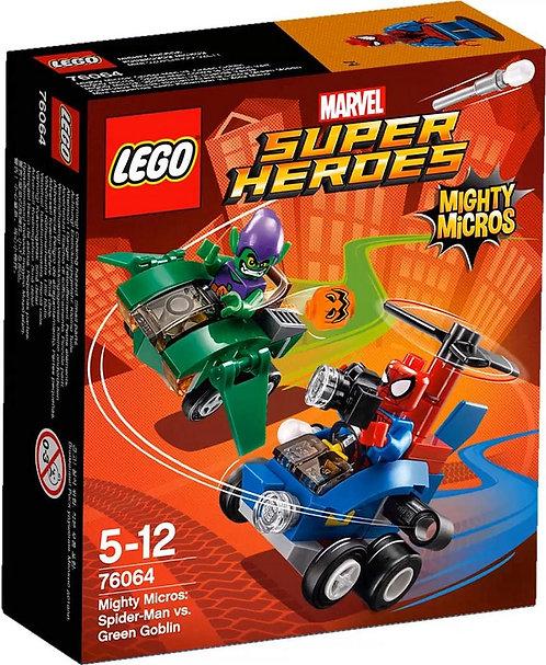 超級英雄系列迷你車 蜘蛛人vs.綠惡魔 76064