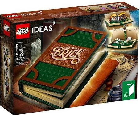 樂高LEGO  Ideas 系列【樂高立體書】LEGO Pop-Up Book 21315