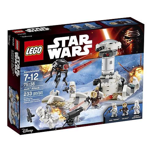 樂高LEGO 電影星際大戰Star Wars系列 霍斯攻擊 Hoth™ Attack 75138
