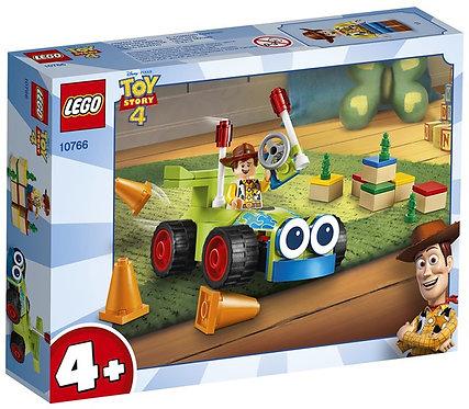 樂高 LEGO 迪士尼系列《玩具總動員4 - Woody & RC 胡迪與遙控車》10766