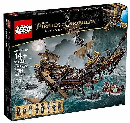 樂高LEGO 電影加勒比海盜 神鬼奇航系列:死無對證【沉默瑪莉號】 The Silent Mary 71042