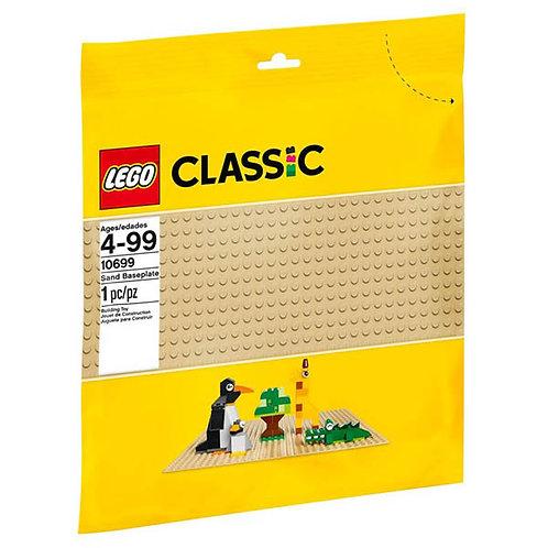 樂高LEGO 經典系列/10699 沙色底板