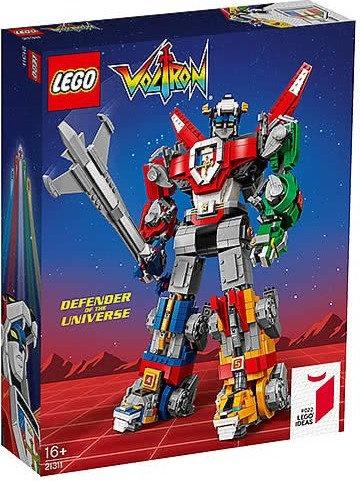 樂高 LEGO IDEAS 系列《Voltron 百獸王 / 聖戰士 - 五獅合體》21311