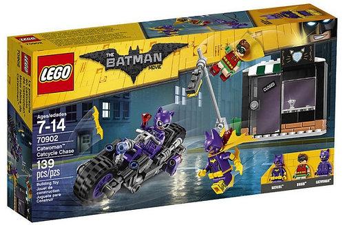 樂高LEGO蝙蝠俠系列 貓女機車追擊 Catwoman™ Catcycle Chase 70902