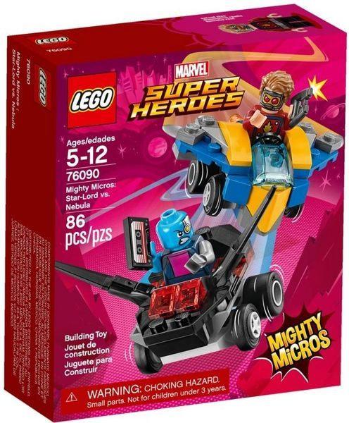 樂高 LEGO SUPER HEROES 超級英雄系列 《星爵vs.涅布拉Mighty Micros: Star-Lord vs. Nebula》76090