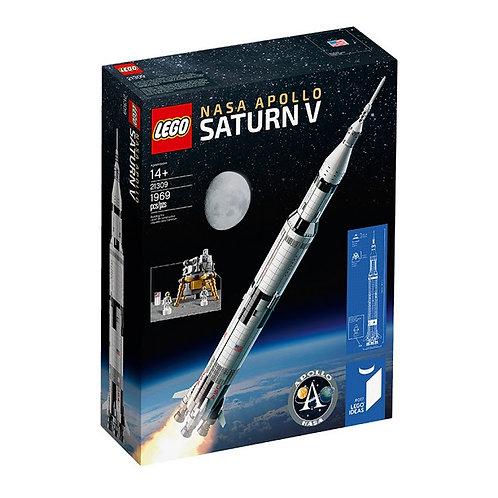【樂高史上最高】 ideas系列阿波羅計畫【農神5號火箭】NASA Apollo Saturn V 21309