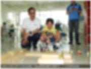 2019-07-08_172115前新北市長朱立倫今天參訪板橋區「光點創意樂高機
